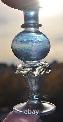 18th Century Imperial Russia VERY RARE Blown Small Perfume Bottle Venetian Glass