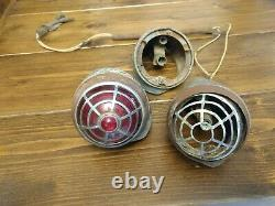 1936-37 chrysler desoto imperial airflow tail light assembly very rare