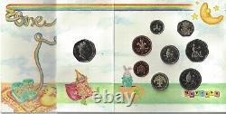1992 Royal Mint 8 coin Baby Gift set Pack EEC 50p 1992 1993 VERY RARE Version