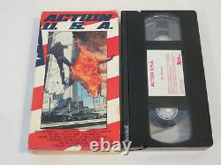 Action U. S. A Vhs 1988 Very Rare Oop USA Imperial Entertainment Original Stewart