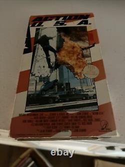 Action USA U. S. A. VHS VERY HTF RARE OOP Imperial ent John Stewart USA TEXAS