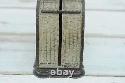 Antique. Rare IMPERIAL Confectioners Candy Scale With Pan Circa 1898 Very Rare