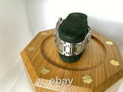 Audemars Piguet Royal Oak Jubilee SALMON DIAL 14802ST VERY RARE