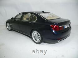 BMW 7er F02 750 LI IMPERIAL BLUE 118 KYOSHO DEALER VERY RARE 804300445172