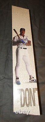 Bo Jackson Nike Poster Display box Royals Raiders VERY RARE Bo Knows