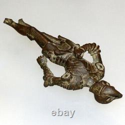 Circa 1500-1600 Ad Bronze Imperial Soldier Statue Very Rare
