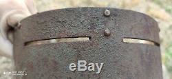 Face plate Helmet M16 ORIGINAL Imperial German WWI WW1 very rare, listing 2
