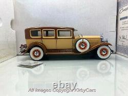Franklin Mint/D4C 1930 CADILLAC V-16 LWB IMPERIAL SEDAN-NMIB/PAPERS- VERY RARE