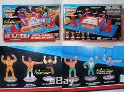 Hasbro 1991 WWF Official Royal Ruble Wrestling Ring unused Very Rare Vintage