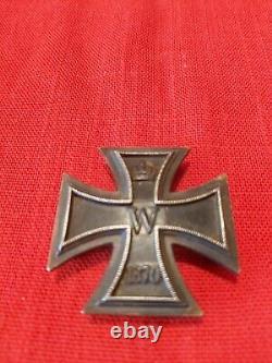 Imperial German 1870 Sew On EK1 Iron Cross Medal Very Rare