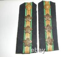 Japanese Imperial Navy shoulder boards. Very rare legal branch