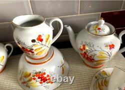 LFZ. Imperial porcelain factory. Tea set. USSR. Very rare