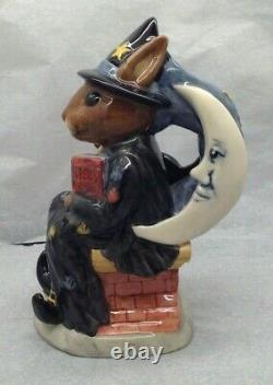 Lovely Very Rare Royal Doulton Witching Time Bunnykins Toby Jug D7166 SU1222