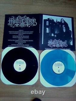 MUTIILATION very rare 2 x lp vampires of black imperial blood limited 150 copy