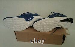 New in box Nike Air Presto Royal Size mens small 8-9 very rare