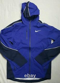 Nike Storm Jacket Men size Small Blue very rare Track and Field new