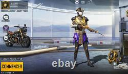 PUBG Mobile Account Lvl 72 Global All Royal Pass Pharaoh X-suit VERY RARE