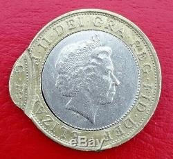 RARE ROYAL MINT ERROR MIS-STRUCK £2 Two Pound 1999 Very rare difficult to find