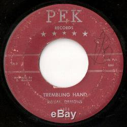ROYAL DEMONS Kiss Kiss Trembling Hand PEK VERY RARE Philly R&B Doo Wop