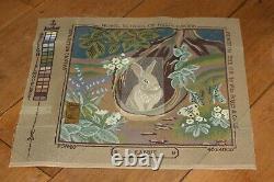 ROYAL SCHOOL OF NEEDLEWORK tapestry kit RABBIT very rare RSN vintage