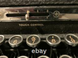 ROYAL Touch Control Portable Typewriter VINTAGE 1939 VERY RARE GREAT CONDITION