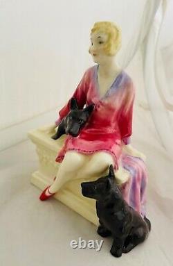 Rare Royal Doulton Figure Scotties HN1281 Very Rare