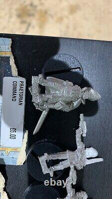 Rare Very Large Unpainted Praetorian Guard, Imperial Guard Army, many BNIB