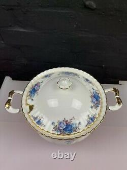 Royal Albert Moonlight Rose Large Soup Tureen 2nd Quality VERY RARE