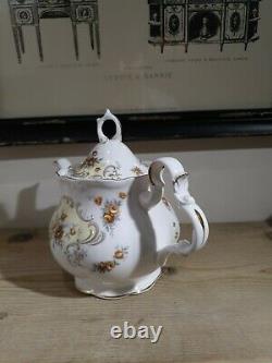 Royal Albert September Song Teapot Stunning and very rare