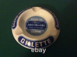 Royal Doulton Ashray Gillette Very Rare Collectable Vinatge Advertising Razor