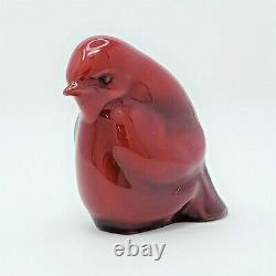 Royal Doulton Flambe Figurine Red Chick HN274 Vintage Very Rare