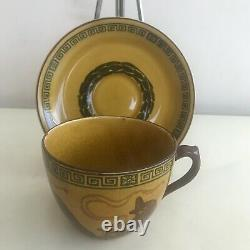 Royal Doulton Halloween Witches Series / Cup & Saucer D2735 (a10) / VERY RARE