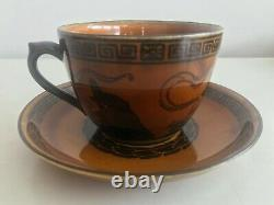 Royal Doulton Halloween Witches Series / Cup & Saucer D2735 (a15) / VERY RARE