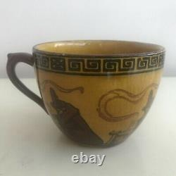Royal Doulton Halloween Witches Series / Cup & Saucer D2735 (a8) / VERY RARE