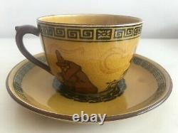 Royal Doulton Halloween Witches Series / Cup & Saucer (a11) / VERY RARE