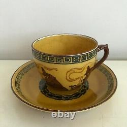Royal Doulton Halloween Witches Series D2735 / Cup & Saucer (a4) / VERY RARE