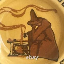 Royal Doulton Halloween Witches Series Small Plate D2735 (a16) / VERY RARE