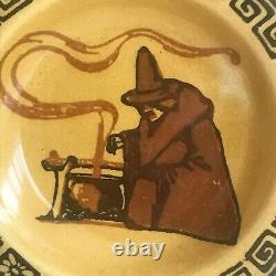 Royal Doulton Halloween Witches Series Small Plate D2735 (a17) / VERY RARE