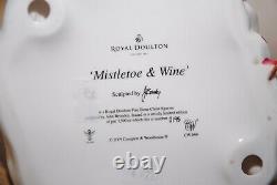 Royal Doulton Mistletoe And Wine Figurine Hn 5399 Very Rare