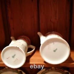 Royal Doulton Teapot + Coffee Pot Jackdaw of Rheims VERY RARE Series E3305