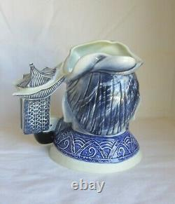 Royal Doulton Very Rare Blue Flambe Confucius Character Excellent Condition