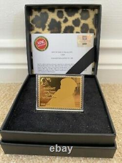 Royal Mail Only Fools And Horses Del Boy, 24 CRT Gold Stamp, Very Rare! No. 1268