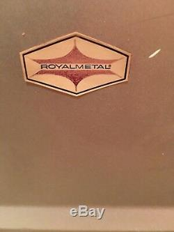 Royal Metal Chair 3 piece set very rare Z frame chairs very good condition