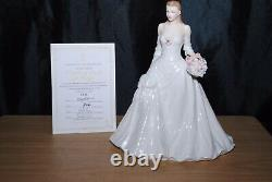Royal Worcester Darling Buds of May Figurine Limited Edition Very Rare