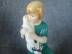 Royal Worcester Figurine 1931/32 THE MONGREL DOG RW2916 VERY VERY RARE