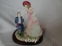 Royal Worcester Figurine 1996 WITH LOVE RW4628 A VERY RARE LIMITED EDITION