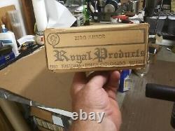 Royal ZERO JUNIOR WWII Military Airplane Kit Radio Control VERY RARE