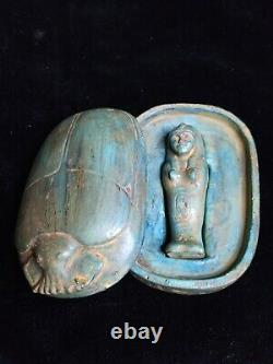 Royal scarab is very rare, ancient Egypt