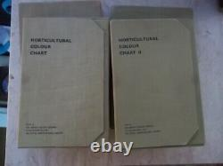 The Horticultural Colour Chart I&II Royal Horticultural Society VERY RARE