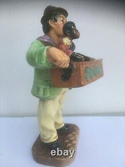 The Organ Grinder-royal Doulton-hn2173-very Rare Old Character Figure